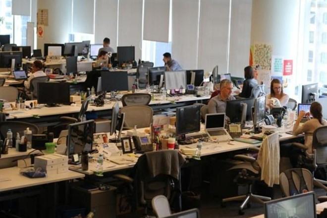 Na foto, o escritório do Facebook em São Paulo. A empresa ficou em terceiro no ranking global de empresa mais desejadas do Linkedin. | Infomoney