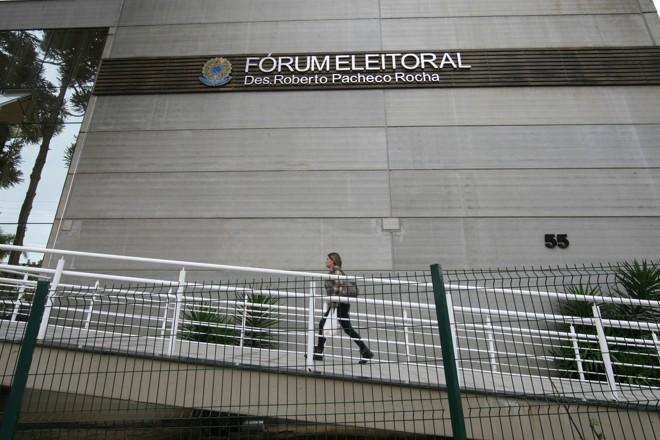 Sede do TRE-PR, em Curitiba. | Aniele Nascimento/Gazeta do Povo