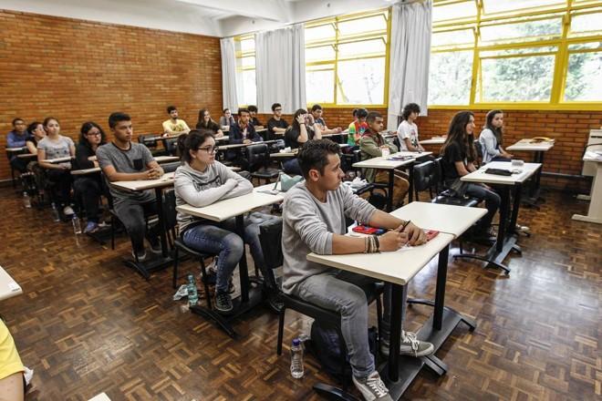 Instituições  têm provas físicas e online por meio de vestibular tradicional ou agendado | Jonathan Campos/Gazeta do Povo/Arquivo