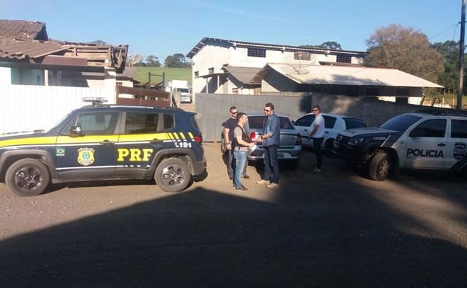 PRF e Polícia Civil fecham abatedouro clandestino que atendia restaurantes e mercados da Grande Curitiba   Divulgação/PRF/Divulgação/PRF