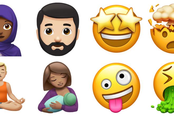 Novos emojis da Apple | AppleDivulgação