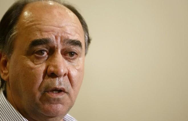 Marcelo Oliveira chega para seu segundo trabalho noCoxa. | Hugo Harada/Gazeta do Povo