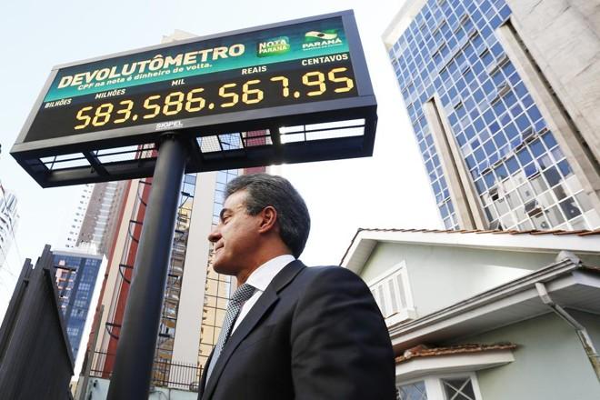 O governador Beto Richa (PSDB)participou da inauguração | Alexandre Mazzo/Gazeta do Povo