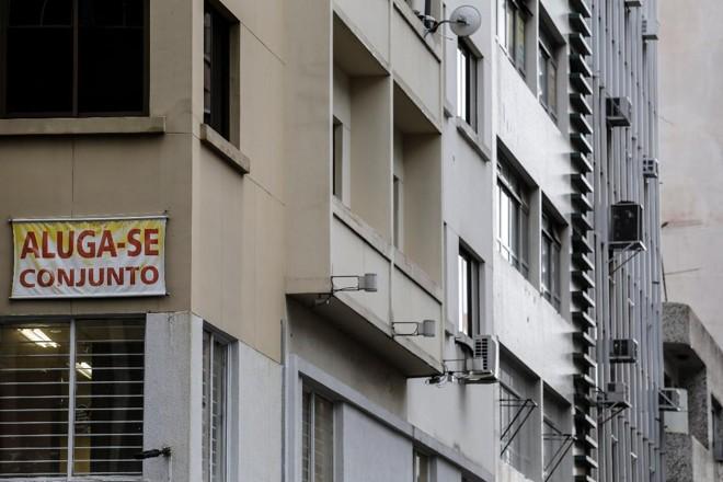 De maio para junho deste ano, o preço médio de locação dos imóveis comerciais tiveram um recuo  de 4%. | Jonathan Campos Gazeta do Povo