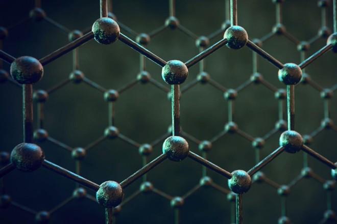 Estrutura molecular do grafeno | Divulgação