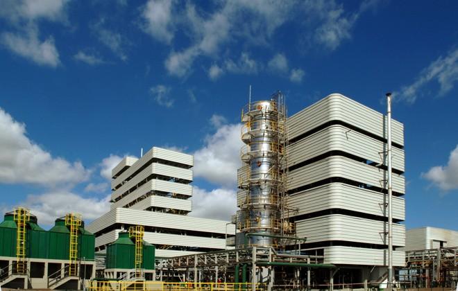 Fábrica de Biodiesel  da  BSBIOS , em Marialva:empresa é a maior arrecadadora de impostos do município | Divulgação/BSBIOS