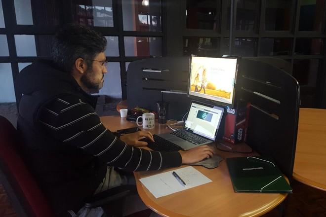 Gustavo Leonato, da Lavandapp: startup hoje tem sede no Worktiba. | Naiady PivaGazeta do Povo