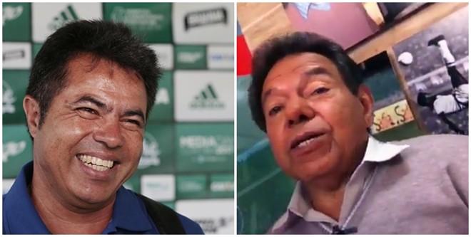 Filho do comentarista esportivo Valmir Gomes, Robson Gomes comandou o Coritiba na derrota para o Flamengo. | /