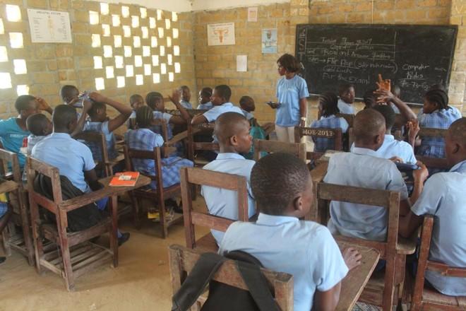 Escola liberiana sob gestão privada: salto de qualidade | Bridge Partnership Schools