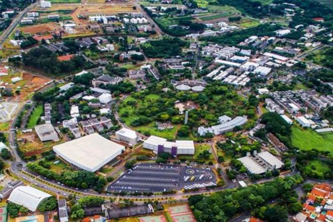 Campus da Unicamp: número um na América Latina   Divulgação
