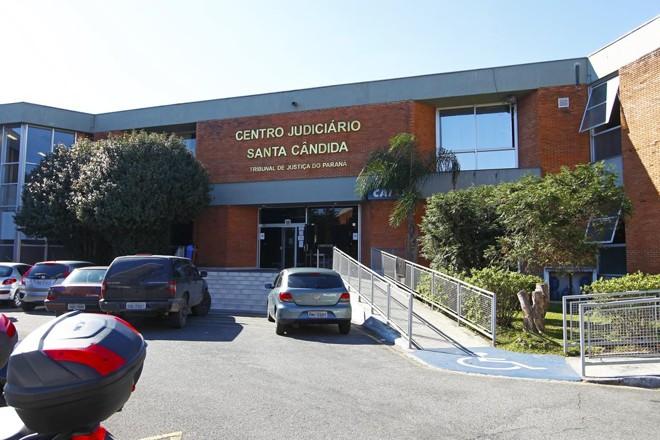 Centro Judiciário do Santa Cândida, onde fica a Vara em que tramita o processo da Quadro Negro | Antônio More/Gazeta do Povo/Arquivo