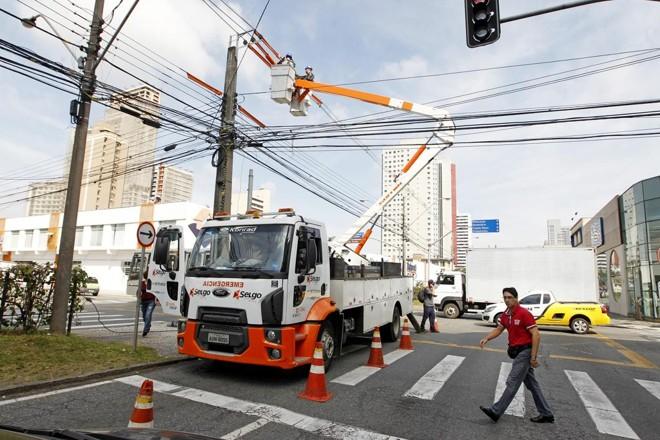 Interrupções vão afetar bairros entre terça e quinta-feira | Antônio More/ Gazeta do Povo