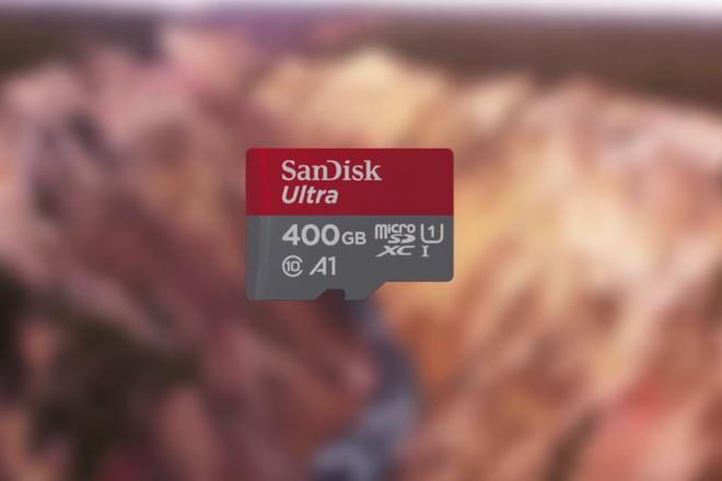 Western, dona da marca SanDisk, lança cartão de memória microSD com capacidade de armazenamento de 400 GB | Reprodução/Facebook
