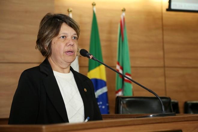 Katia Dittrich, vereadora de Curitiba   Chico Camargo/Câmara de Curitiba