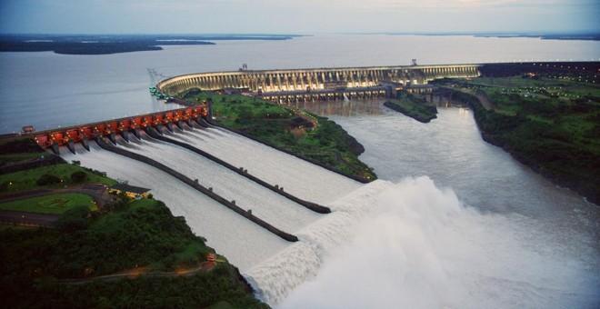 Comando da hidrelétrica de Itaipu fica em Foz do Iguaçu. | Nilton Rolin/Itaipu