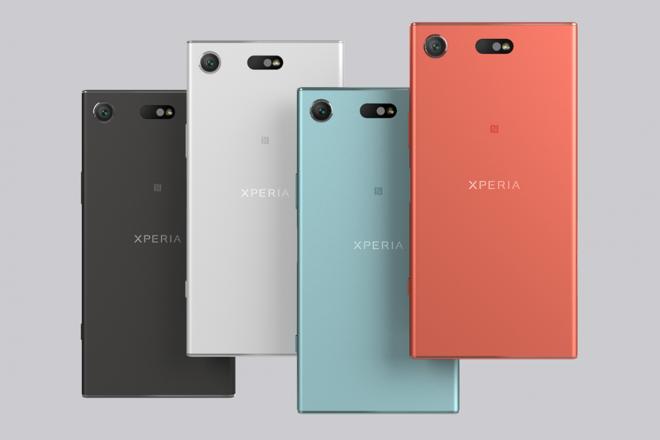 Xperia XZ1 Compact em quatro cores   SonyDivulgação