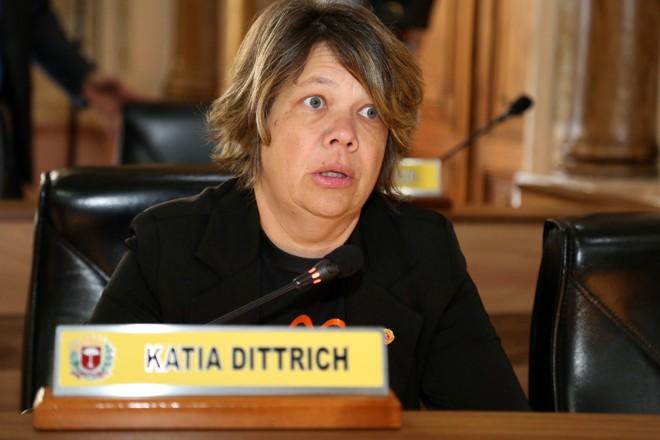 Katia Dittrich (SD), vereadora de Curitiba | Chico Camargo/Câmara de Curitiba/Arquivo