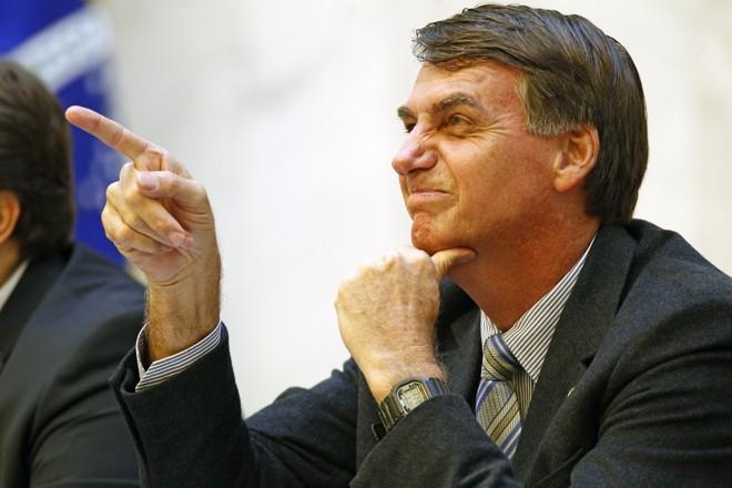 Bolsonaro: em segundo das intenções de voto, mas com rejeição acima dos 50%. | Antônio More/Gazeta do Povo/Arquivo