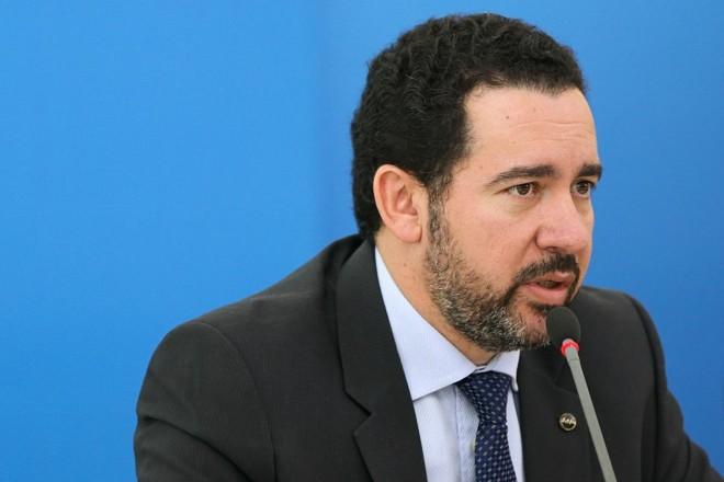 Anúncio da liberação de R$ 15,9 bilhões foi feito pelo ministro do Planejamento, Dyogo Oliveira. | Marcelo Camargo Agência Brasil