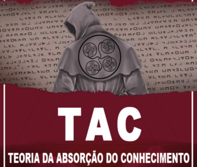 Capa do primeiro livro lançado por Bruno Borges, o TAC - Teoria da Absorção do Conhecimento | Reprodução