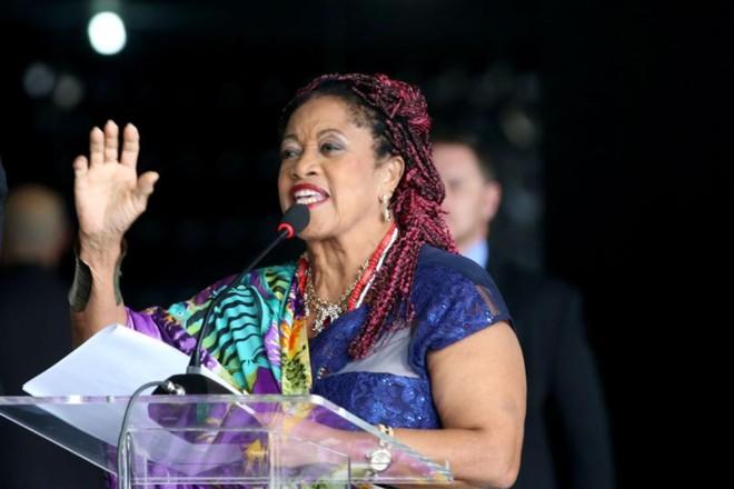 A Ministra dos Direitos Humanos do Brasil, Luislinda Dias de Valois Santos, a primeira juíza negra do Brasil | Wilson Dias/Agência Brasil