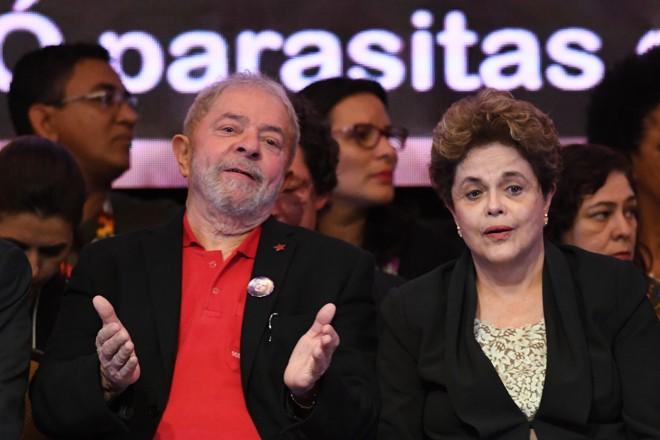 Lula e Dilma são alvo de segunda denúncia nesta semana:Rodrigo Janot, o PGR, acusou a dupla de obstrução de justiça | EVARISTO SA/AFP