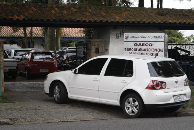 Gaeco executou mandados de busca e apreensão e prisão preventiva em Curitiba e Guaratuba. | Aniele Nascimento/Gazeta do Povo