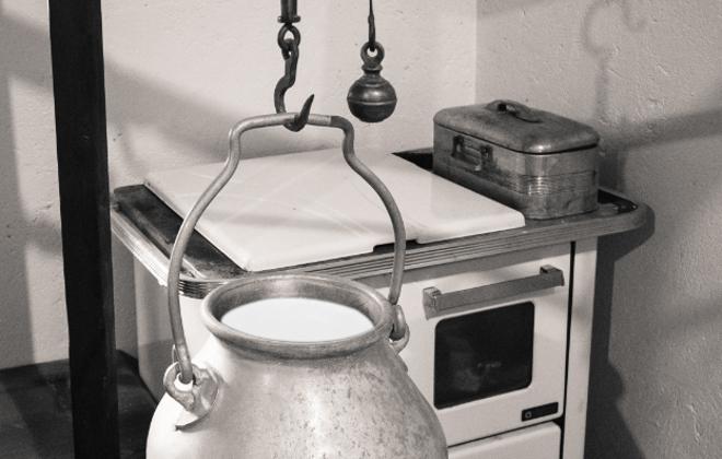 Venda por quilo já acontecia no passado, na época dos latões de leite | BigStock/