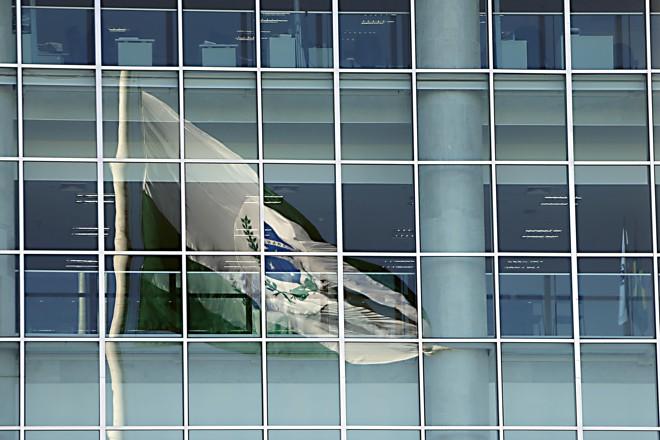 Fachada de vidro do Palácio Iguaçu, sede do governo do Paraná, em Curitiba. | Albari Rosa/Gazeta do Povo