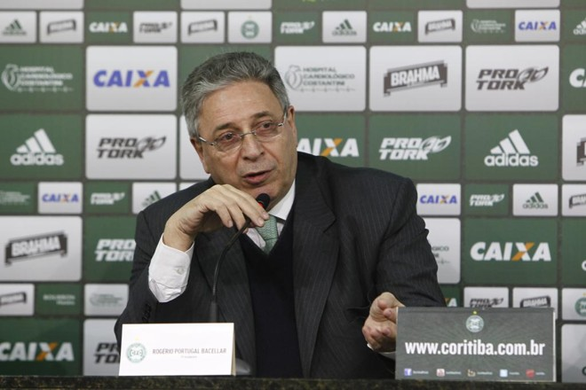 RogérioBacellar falou sobre diversos temas do dia a dia do Coritiba. | Antônio More/Gazeta do Povo