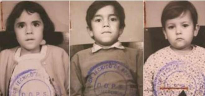 Zuleide, Luis Carlos e Ernesto: fichados pela ditadura | Reprodução