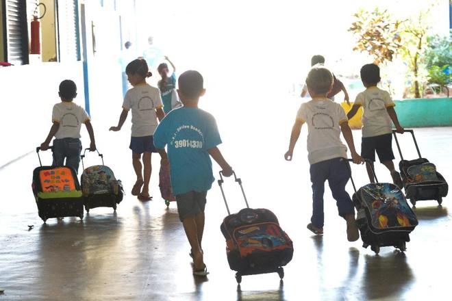 Brasil: número de crianças frequentando a educação infantil  está abaixo da média. | Elza Fiúza/Agência Brasil