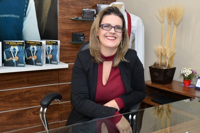 A empresária  Lara Ganzela  chegou em Guarapuava em  2010, atraída  pelo clima ameno, amplas áreas verdes e oportunidade de negócios. | João Carlos da Silva/Divulgação
