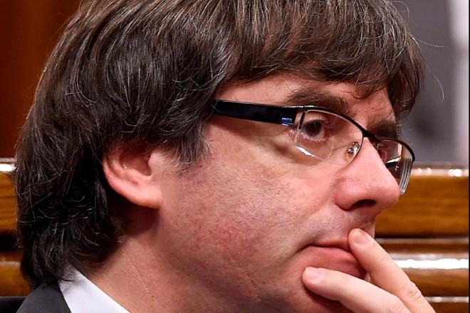 Por já ter sido destituído, Puigdemont não terá foro privilegiado durante a acusação e eventual pena | JOSEP LAGO/AFP