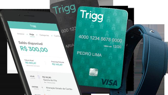 Trigg oferece cartão de crédito com cashback | Divulgação/Trigg