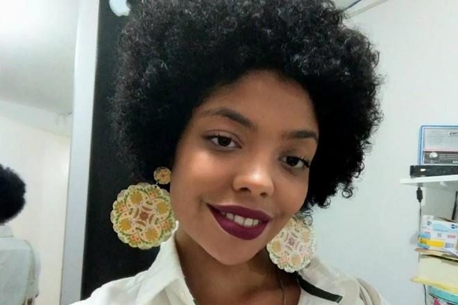 Caroline Barbosa abriu mão das cotas por ter condição financeira confortável | Arquivo pessoal