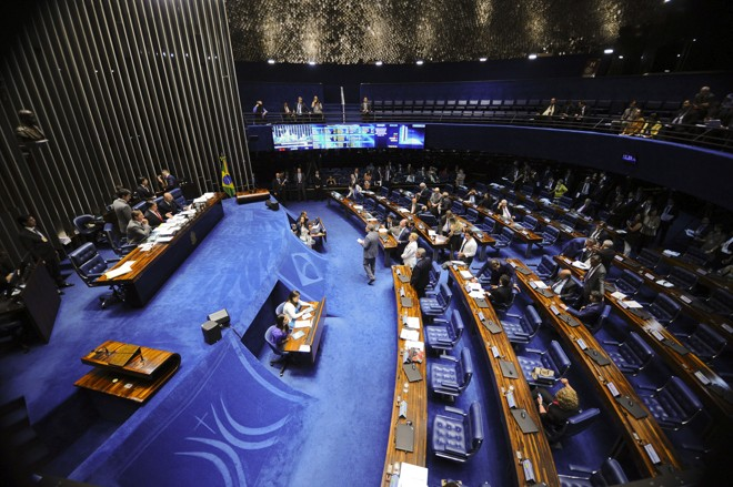 Plenário do Senado:54 das 81 cadeiras serão renovadas na eleição deste ano. | Marcos Oliveira/Agência Senado