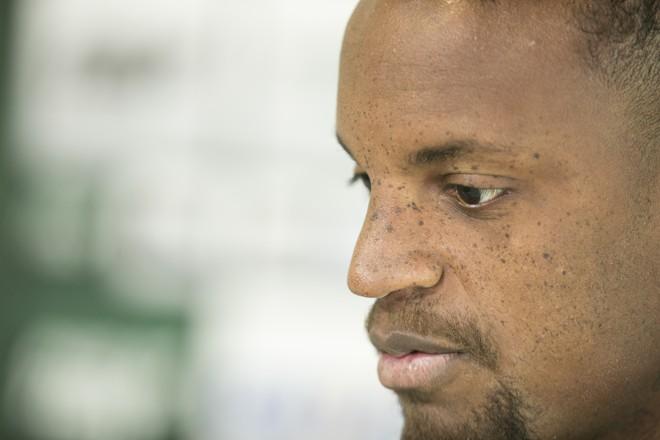 Cleber, zagueiro do Coritiba.   Marcelo Andrade/Gazeta do Povo