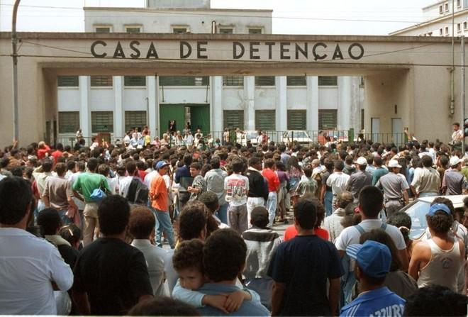 Massacre de presos aconteceu em outubro de 1992   Heitor Hui/Agência Estado