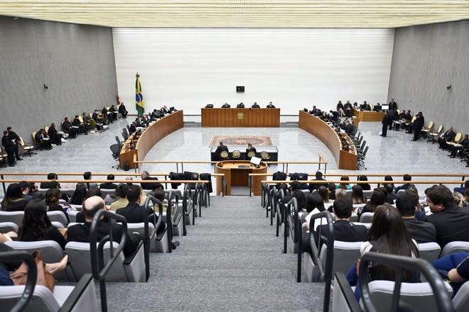 A Corte Especial do STJdurante julgamento | Sergio Amaral/STJ