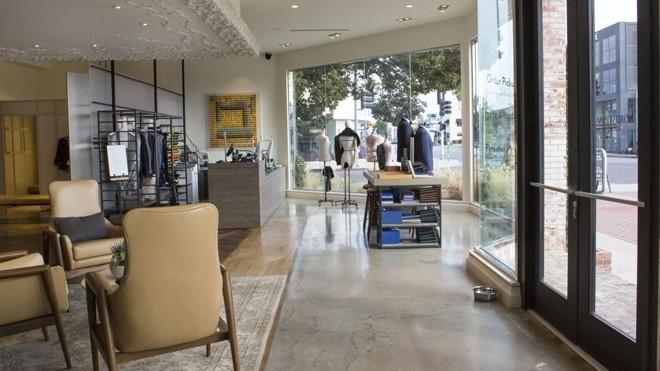97163cb4bc Primeira loja em estilo showroom da Nordstrom, em Los Angeles, nos Estados  Unidos
