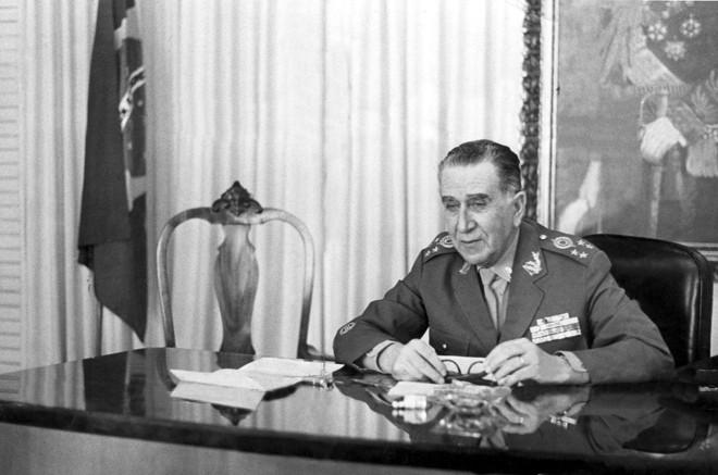 Peres foi Indicado para governador do estado pelo presidente Emílio Garrastazu Médici em março de 1971. | Arquivo/ Estadão Conteúdo