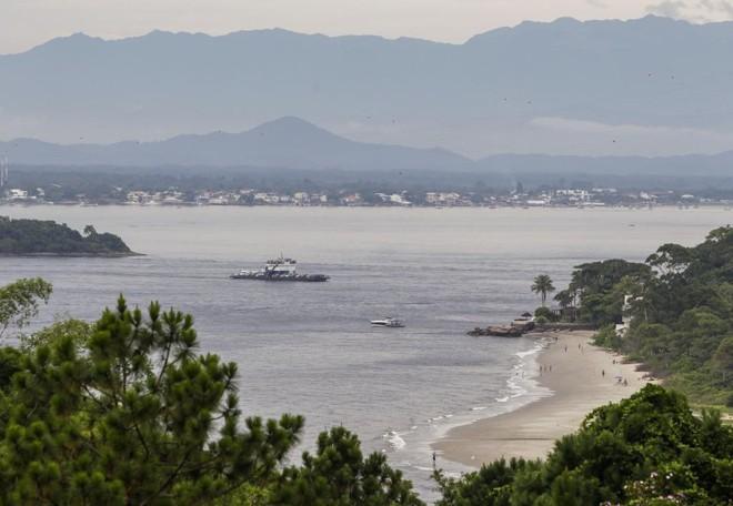 Governo lança edital para a construção da ponte sobre a baía de Guaratuba. | Daniel Castellano / Arquivo Gazeta do Povo