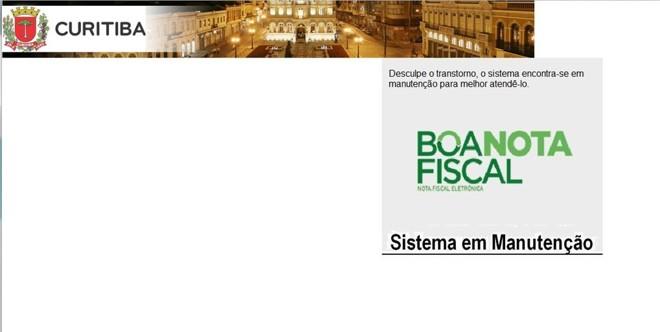| Reprodução/Site da prefeitura de Curitiba