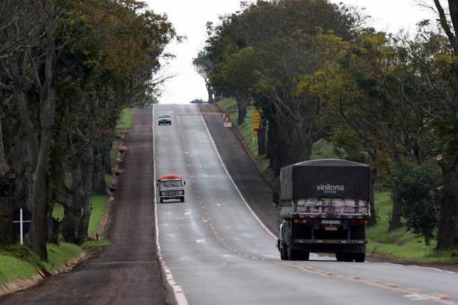 BR-369  corta o interior do Paraná, numa importante rota de cargas. | Arquivo Gazeta do Povo