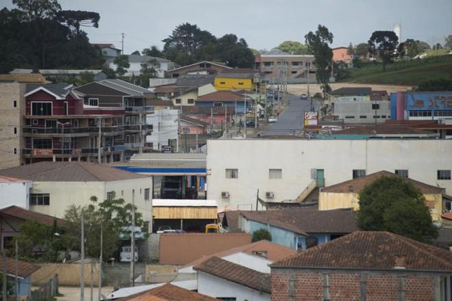 Vista geral de Itaperuçu. | Henry Milleo/ Agência de Notícias Gazeta do Povo/ Arquivo