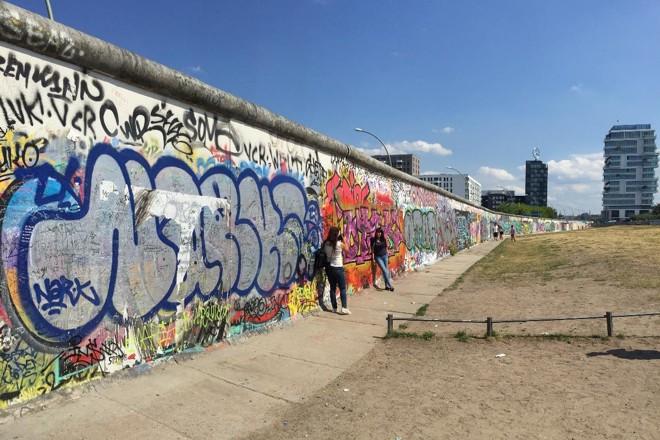 Trecho do Muro de Berlim | Pixabay
