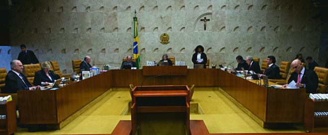 O Supremo está se fortalecendo nos últimos anos por mudanças na legislação, no regulamento interno da Corte e pela postura dos próprios ministros, cada vez mais políticos   Lula Marques/AGPT