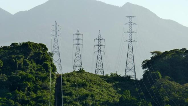 Torres de transmissão de energia da Copel | Divulgação Copel/Divulgação Copel