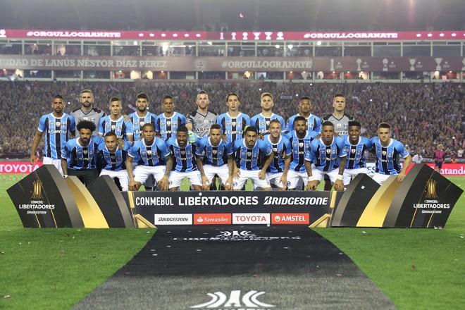 Após ser campeão em 1983 e 1995, o Grêmio também  tem agora a Libertadores de 2017. | PEDRO H. TESCH/ELEVEN/ESTADÃO CONTEÚDO/